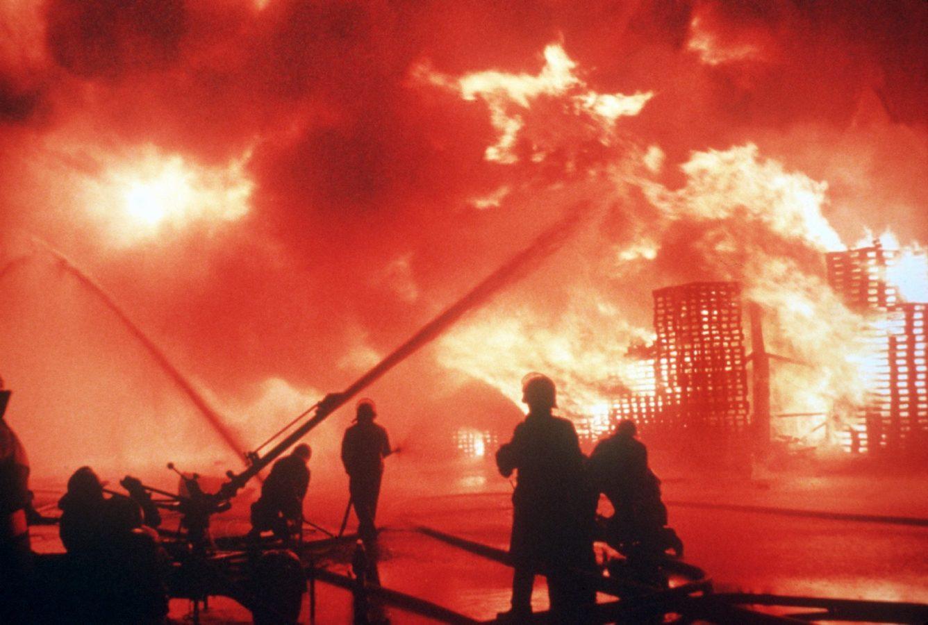 Ein Chemieunfall bei der Firma Sandoz vergiftete den Rhein 1986.