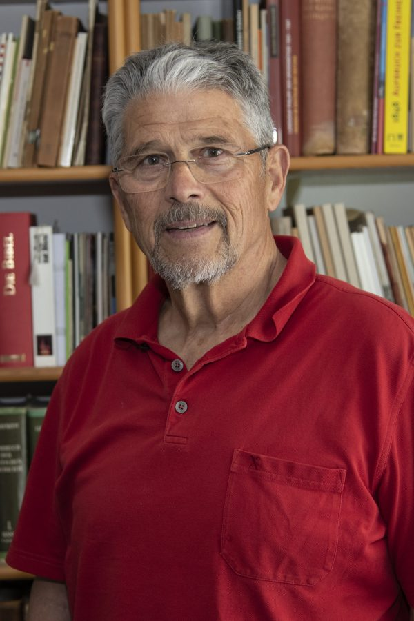 Lokalhistoriker Gernot Scior
