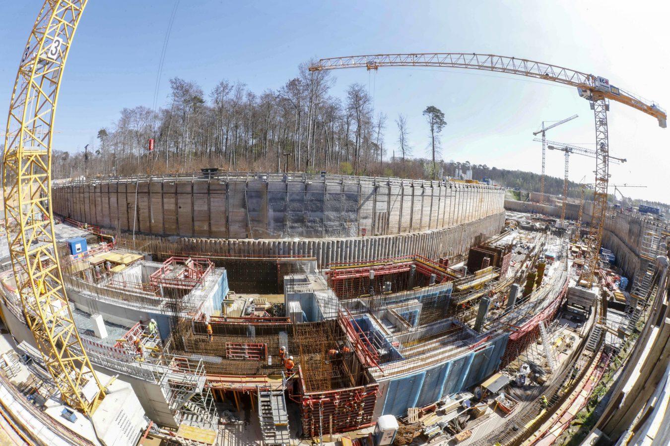 Darmstadts größte Baustelle: der Teilchenbeschleuniger FAIR