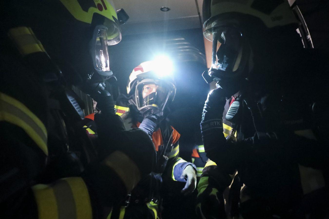 Tunnelblick: Rettungsübung in Niedernhausener ICE-Tunnel