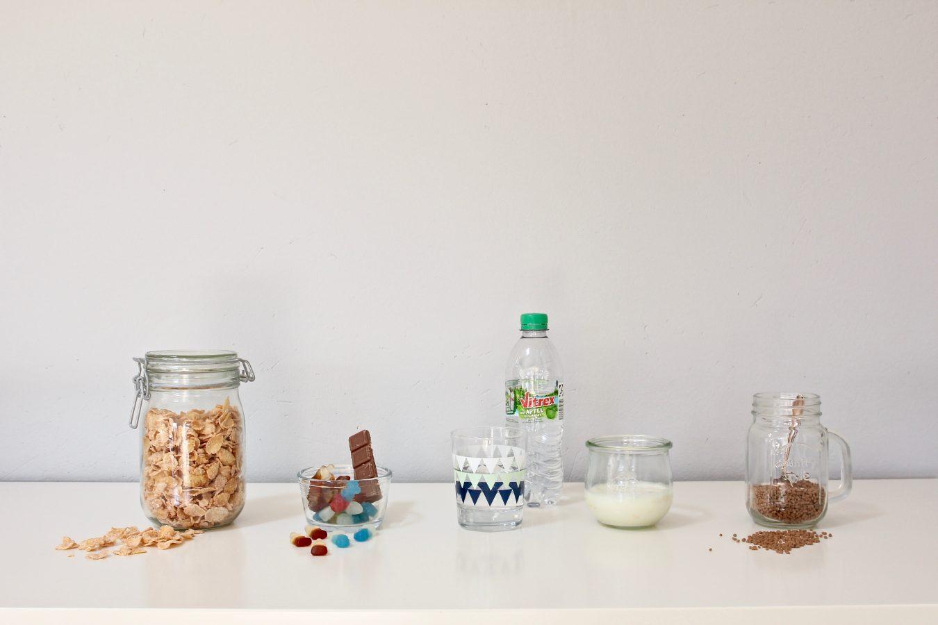 Lebensmittel mit viel Zucker