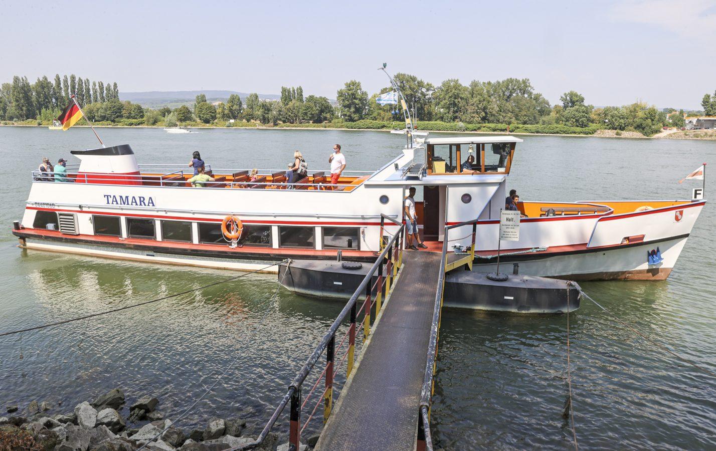 Ein Kurzurlaub auf dem Rhein