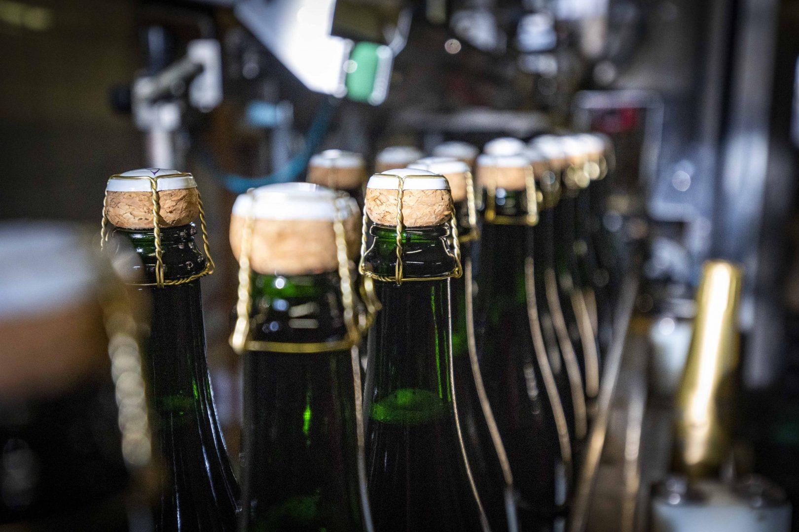 Prickelnd: Sekt nach klassischer Flaschengärung