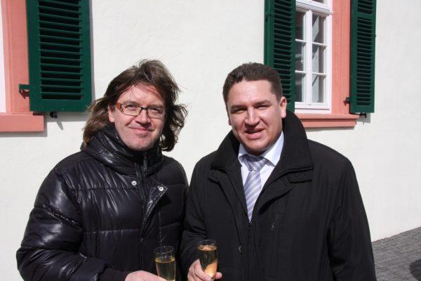 """Mit Roland Bless von """"Pur"""" (Foto: privat/Held)"""