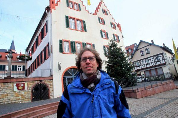 Der Oppenheiemr Winzer Axel Dahlem hat die Demos initiiert (Foto: hbz/Henkel)